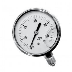 Ciśnieniomierze (manometry) na ciśnienie wypełnione gliceryną.